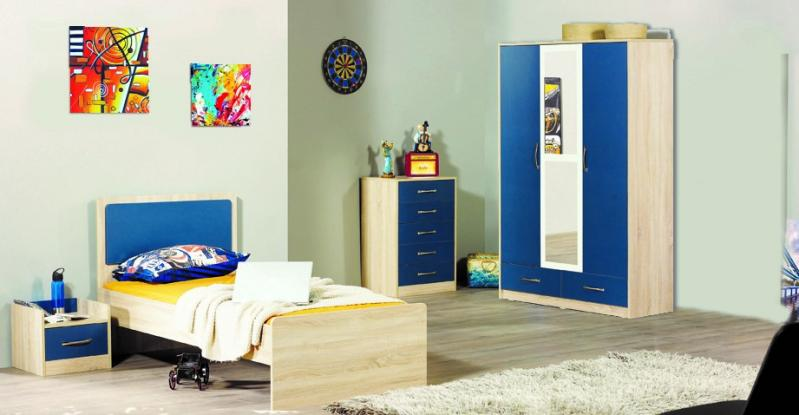 chambre a coucher enfant vipa 3 l ments armonia armonia. Black Bedroom Furniture Sets. Home Design Ideas