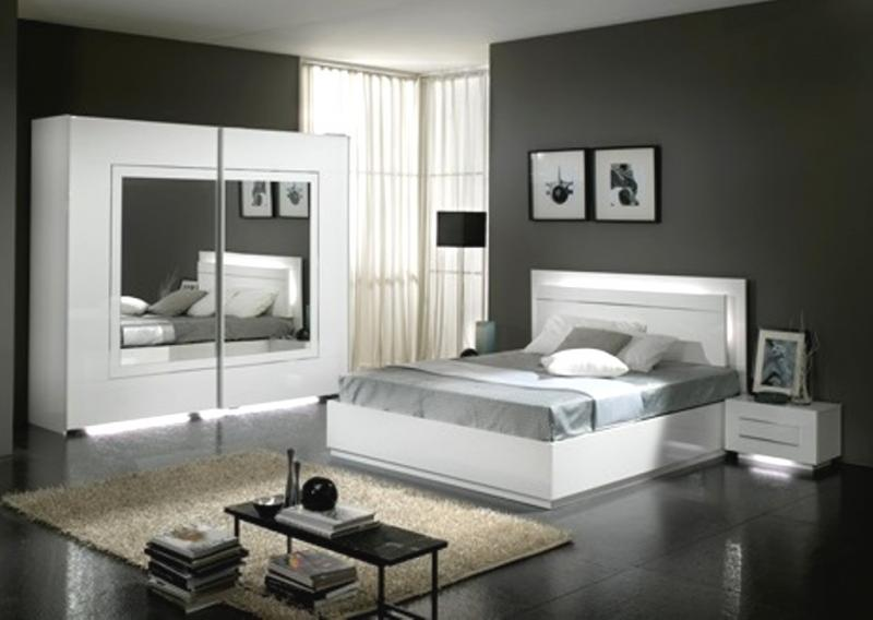 Chambre adulte city 3 l ments armonia armonia for Meubles chambre adulte complete