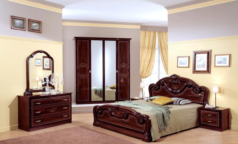 Chambre adulte gioia 6 l ments armonia armonia - Disposition des meubles dans une chambre ...