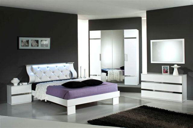 Mobilier chambre adulte complte design view images for Mobilier de chambre adulte