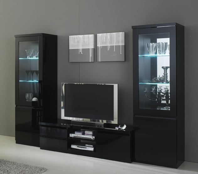 meubles tv avec colonne sammlung von design zeichnungen als inspirierendes design. Black Bedroom Furniture Sets. Home Design Ideas