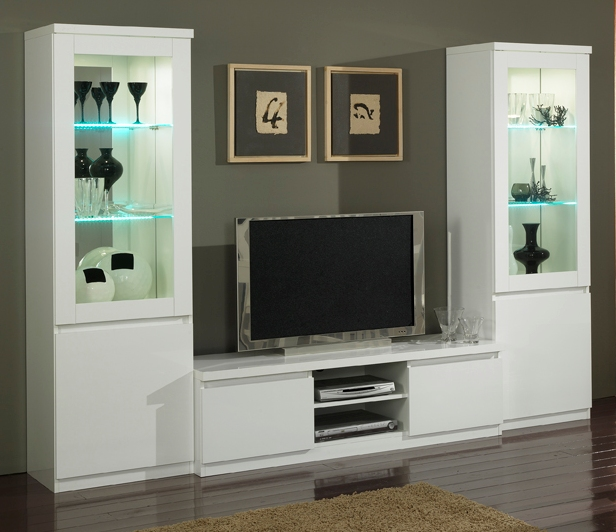 Meuble tv plasma roma armonia armonia for Living meuble tv